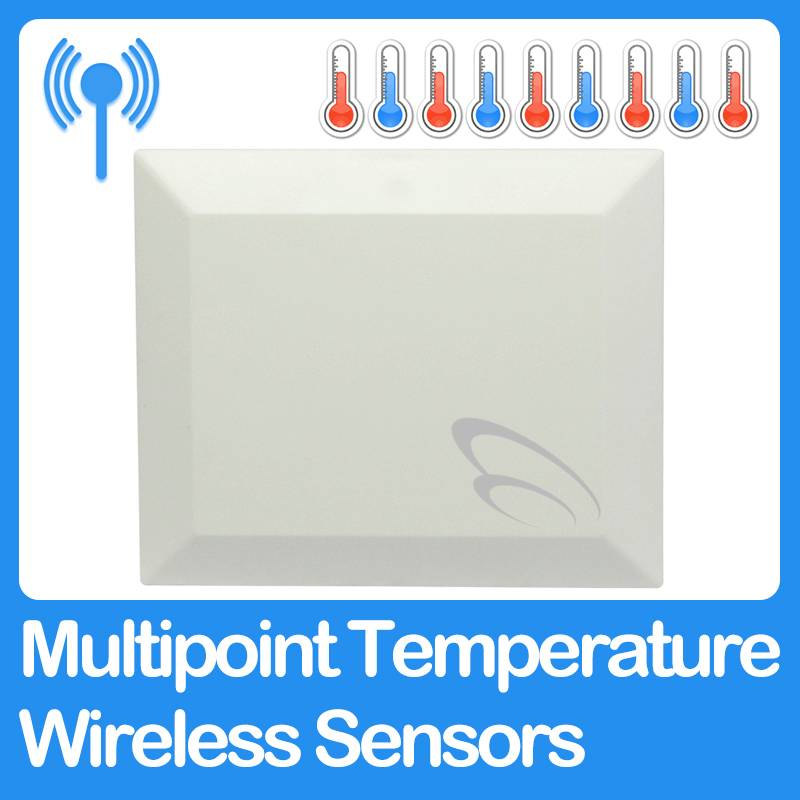 Multipoint Temperature Wireless Sensors