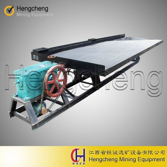 gravity separator tungsten chrome ore mining machine 6s gold shaker table