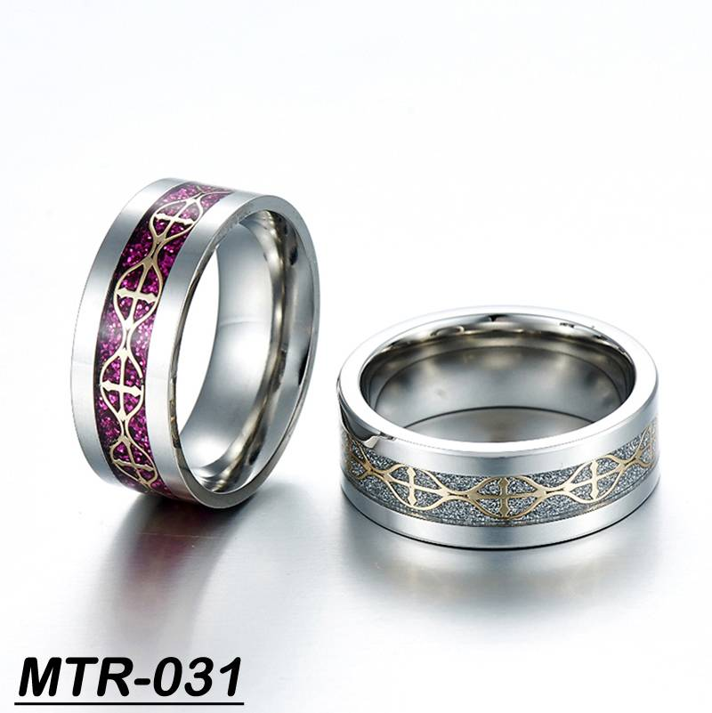 newest mens tungsten ring band ring ring with cross shiny ring