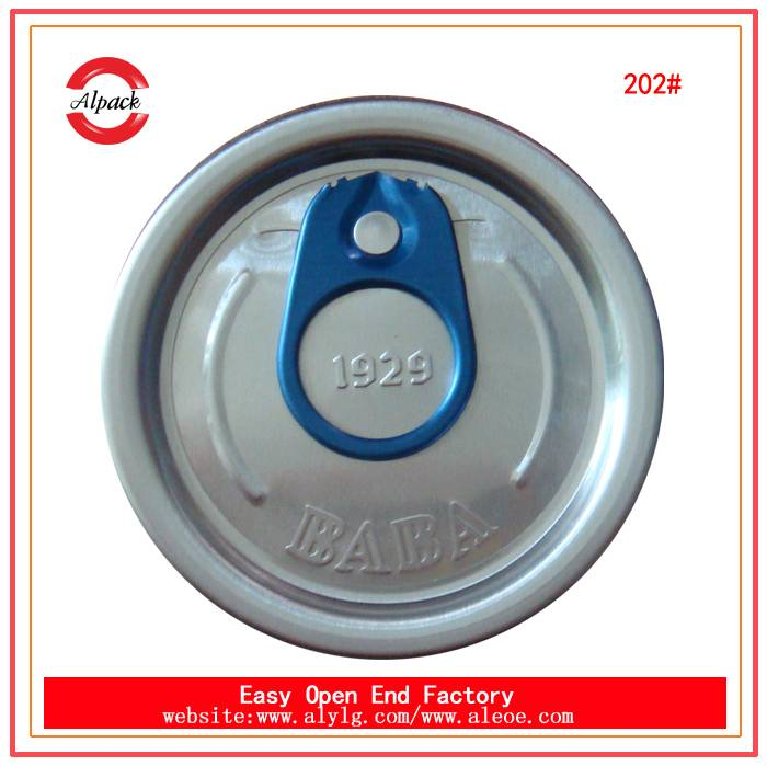 202#51.6mm aluminum pull tabs easy open end supplier