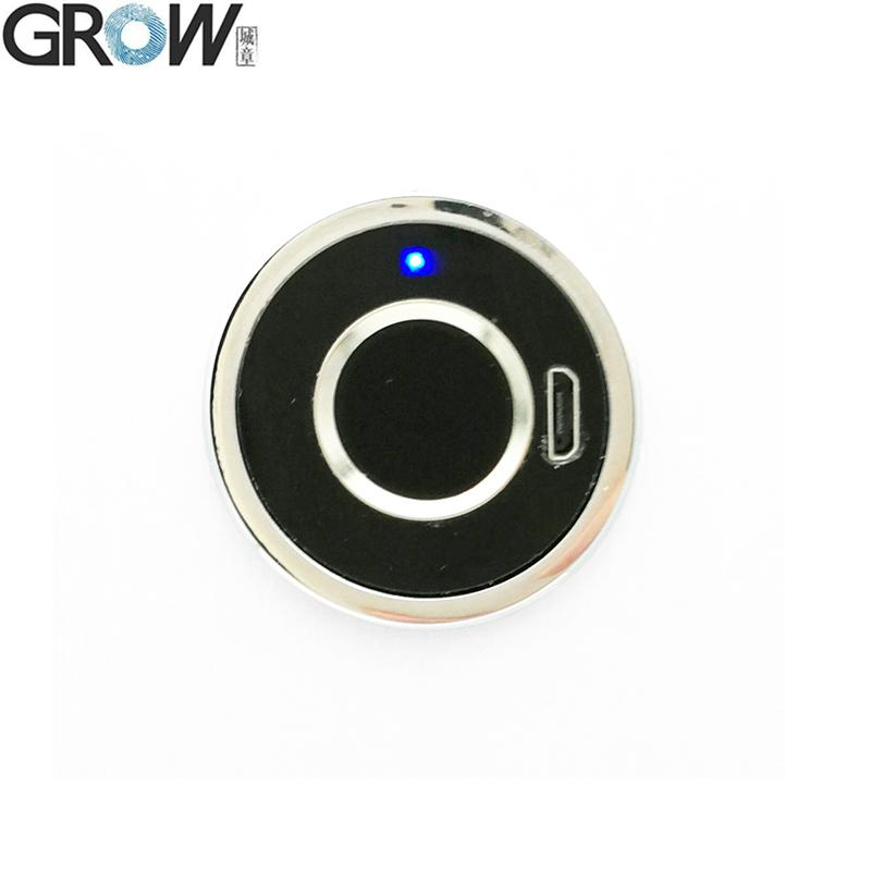 GROW R501 New Design Circular Shell Capacitive Fingerprint Access Control Module Sensor Scanner
