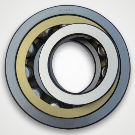 FAG Bearings FAG QJ305MPA Angular Contact Ball Bearing, Single Row, Open, 35°