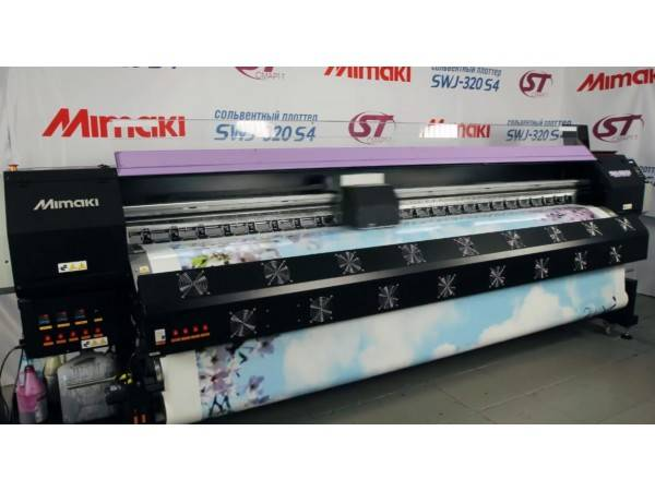 Mimaki SWJ-320 S4 3.2 M Grand Format Inkjet Printer