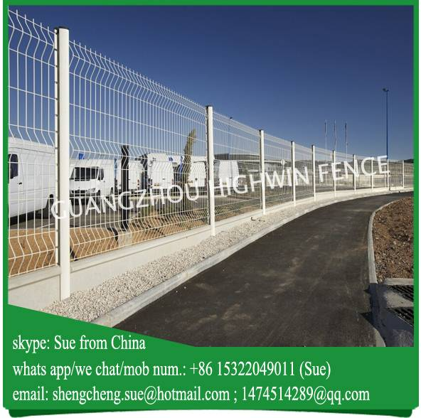 Export to Iraq PVC Coated Used Fence Panels For isolation