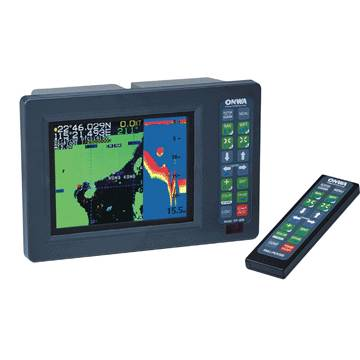 COLOR LCD GPS PLOTTER SOUNDER
