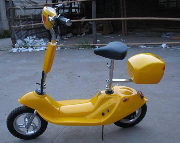 Mini electric scooter (E-SK01,yellow)