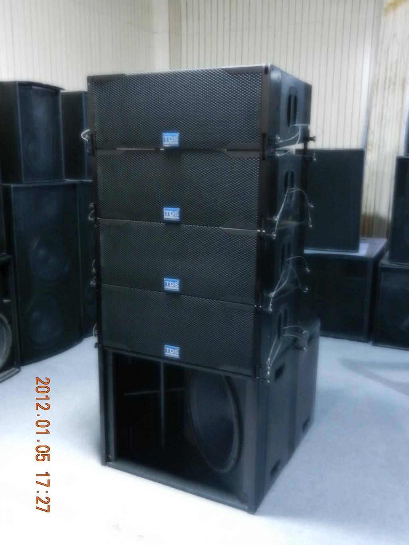 PRO audio line array dual 8 inch for pa system concert sound (LA 208)