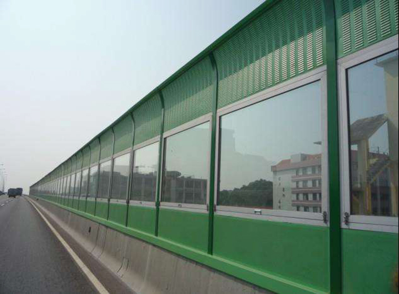 sound absorbing barrier/highway sound noise barrier