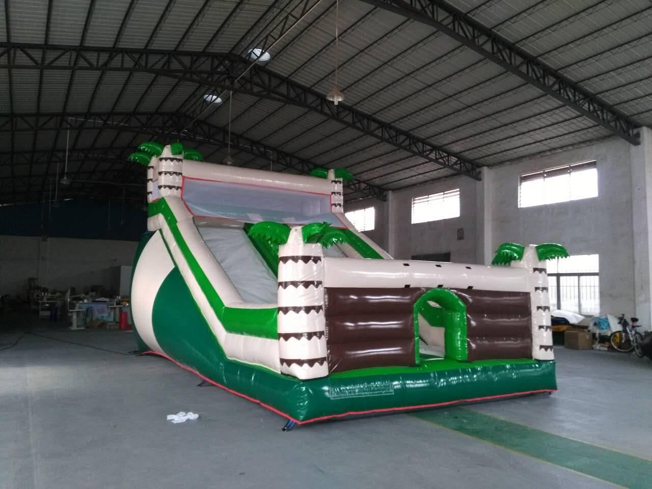Palm tree Inflatable slider