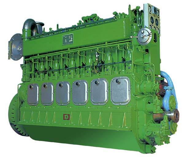 300 medium-speed marine diesel engine