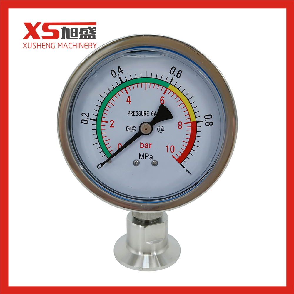 0-10 Bar Stainless Steel Pressure Gauge for Valve Orthers Product