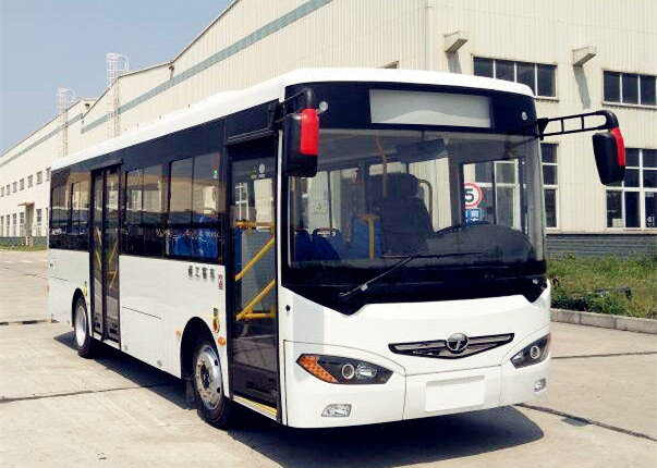 8 Meter Lithium Iron Phosphate Middle Pure Electricity Passenger City Bus