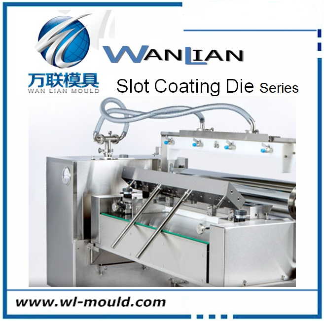 China Single Screw Hot Melting Plastic Granule Extruding Slot Die Coating Manufacturer