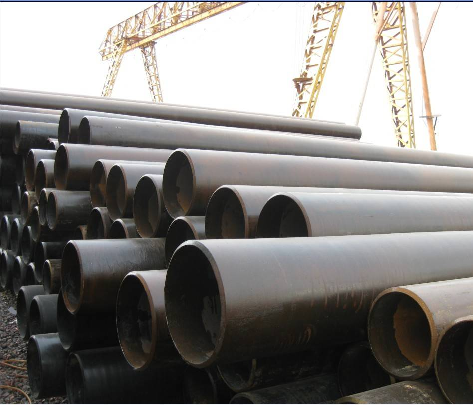 Round LSAW Steel Pipes