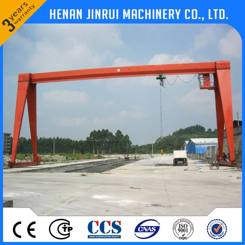 Low Price Outdoor Single Girder Gantry Crane