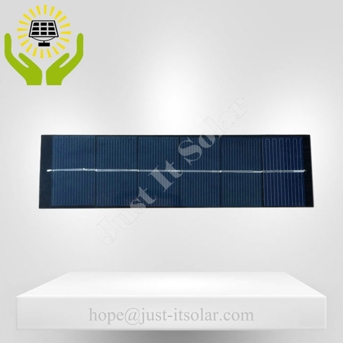 3V 500mA 1.5W Small PET Solar Cell