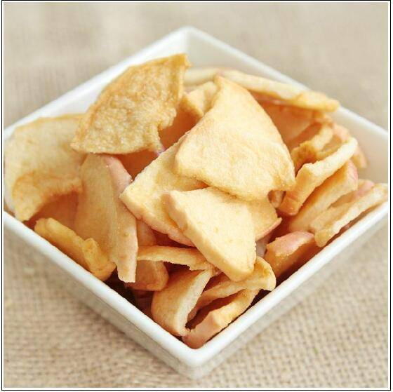 Vacuum fried apple chips VF apple chips Fruit Snacks fruit chips