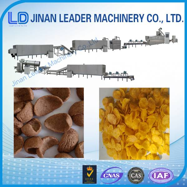 Easy operation corn flakes machinery manufacturers in india jinan factory