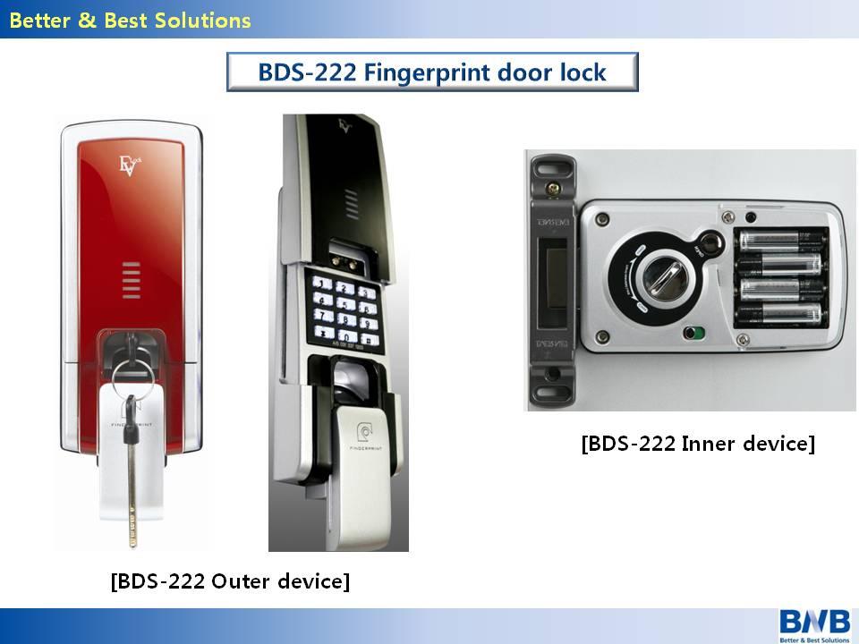 Fingerprint door lock