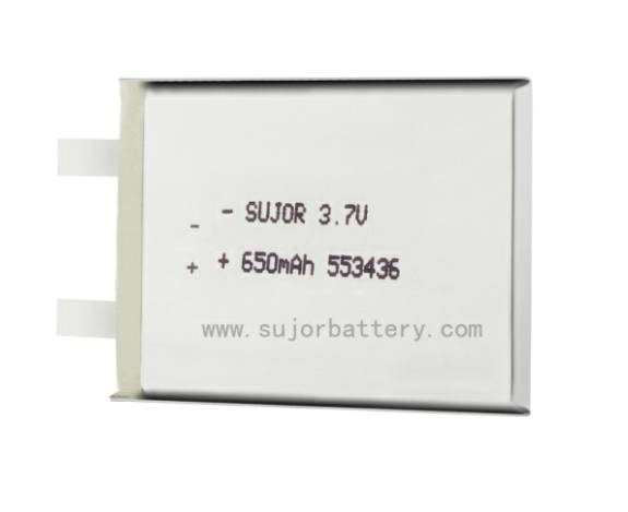 Lithium polymer battery for GPS 3.7V PL553436