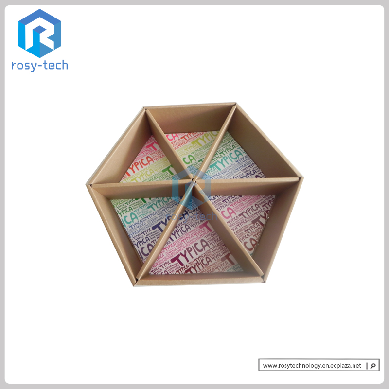 Diamond-type Corrugated Cardboard Display Box With 6 Cells For Sunglasses Retail