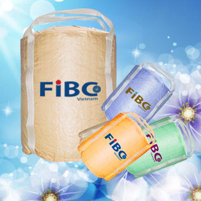 Fibc bag, jumbo bag, big bag, container bag one ton in Vietnam