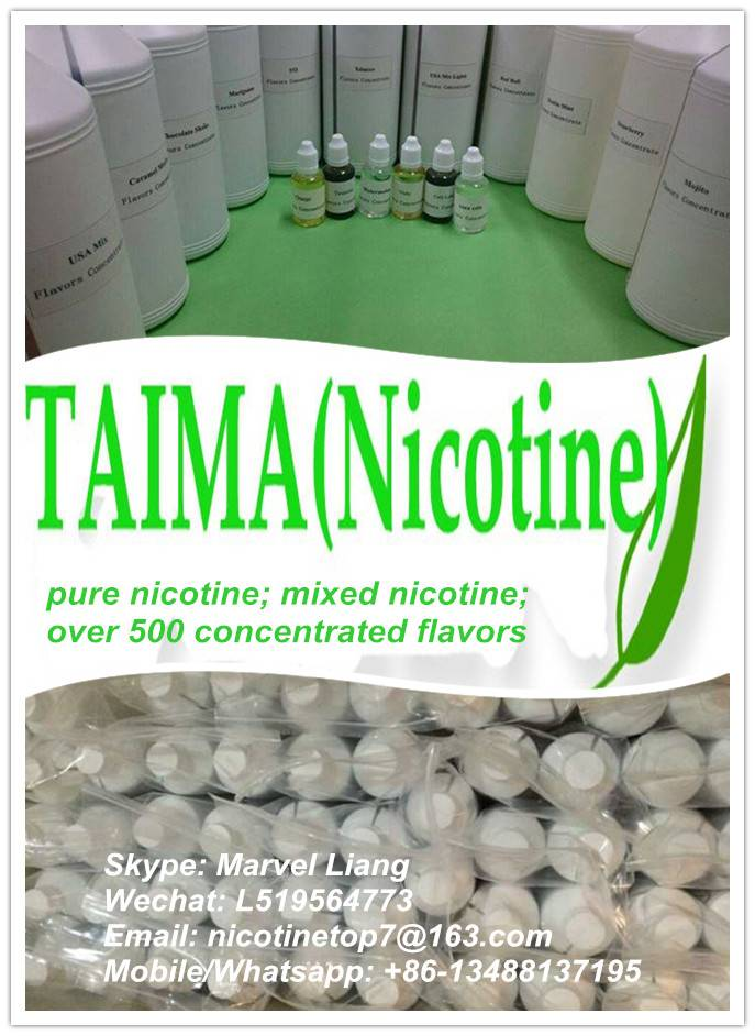 99.99% nicotine (USP grade liquid nicotine applied to your own e liquid)