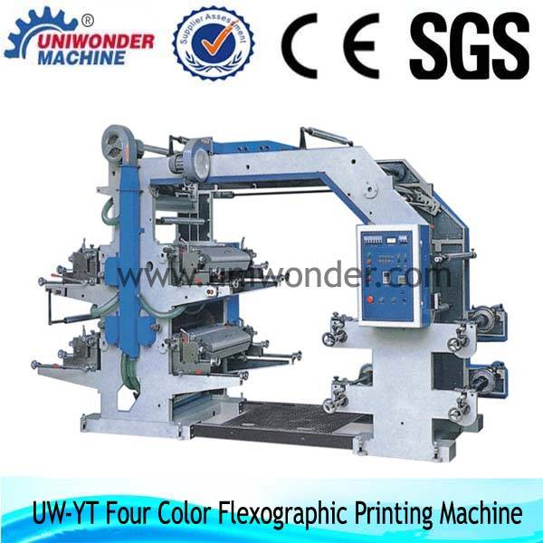 YT Series Four Color Flexographic Printing Machine