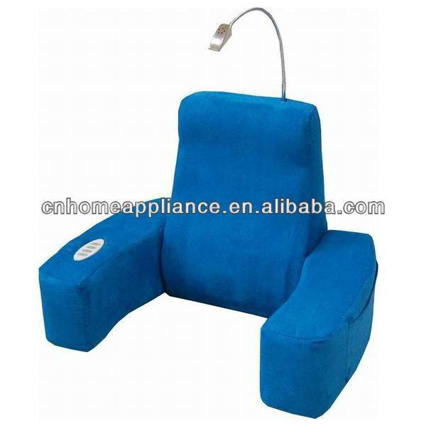 Bed seat massage cushion with TNT blue cover