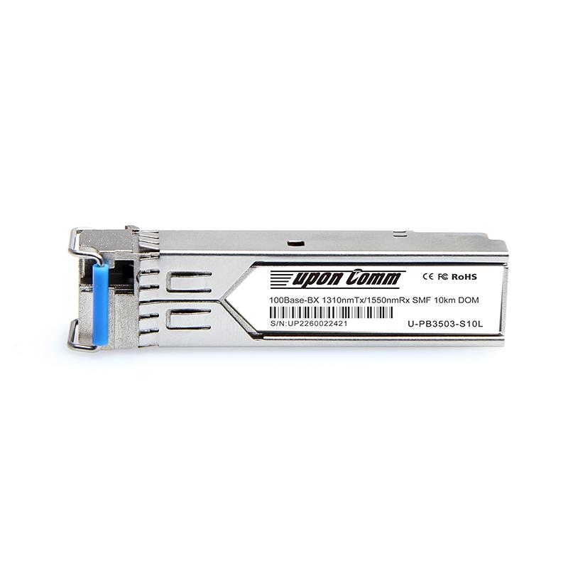 1000BASE-BX-U BiDi SFP 1310nm-TX/1550nm-RX 10km DOM Transceiver Modul