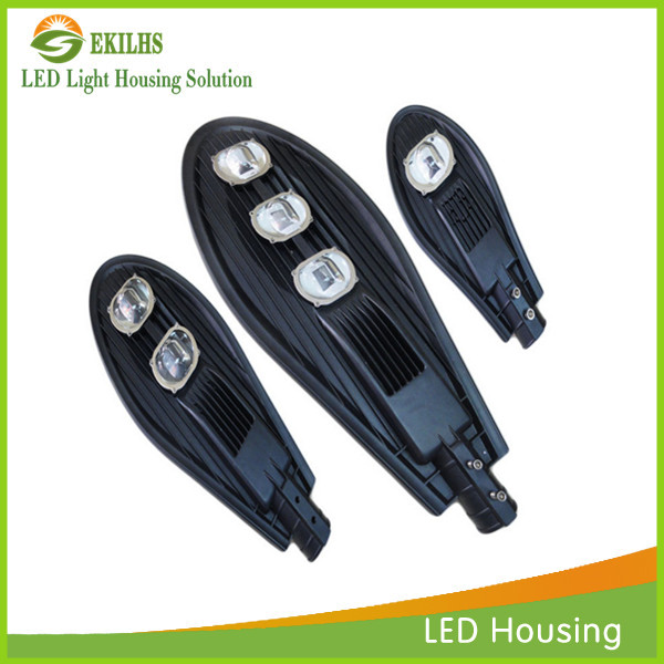 Fashion design led street lamp housing aluminium die casting heat sink led street light housing