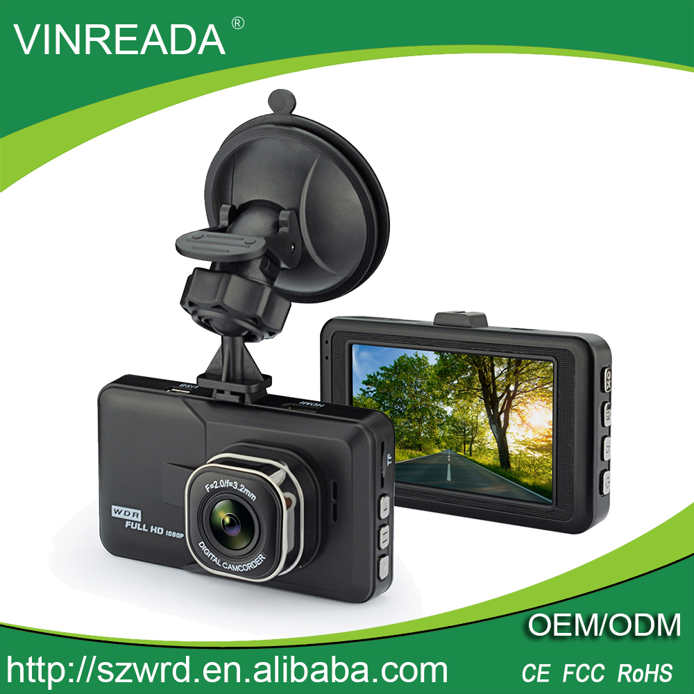3.0 Inch Front View Car Dash Cam 1080P Full HD Car Camera Video Vehicle Recorder Balck Box
