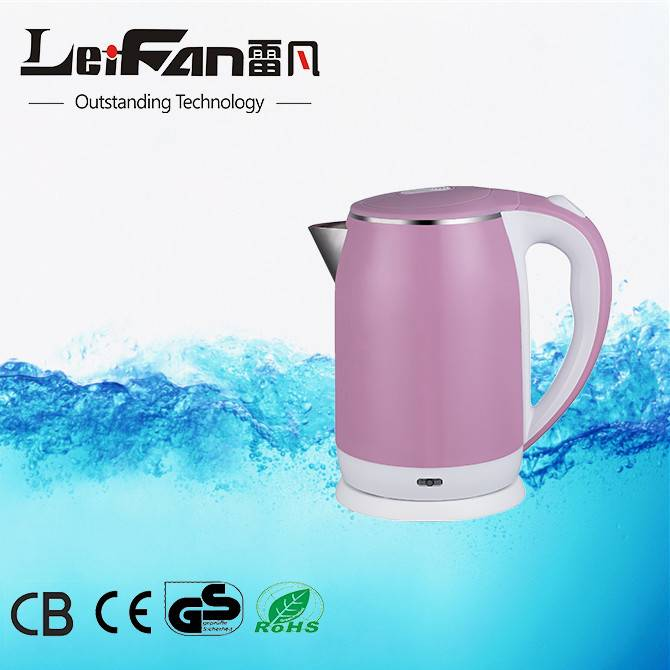 high quality with competitive price electric water kettle from leifan factory