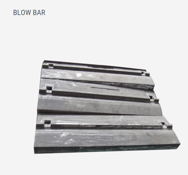 BLOW BAR · BREAKER PLATE · SIDE LINER · HIGH CHROMIUM · IMPACT CRUSHER PARTS