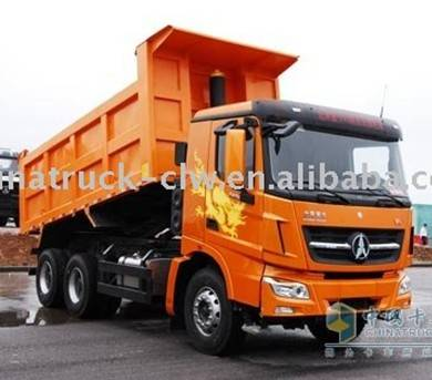Heavy dumper truck