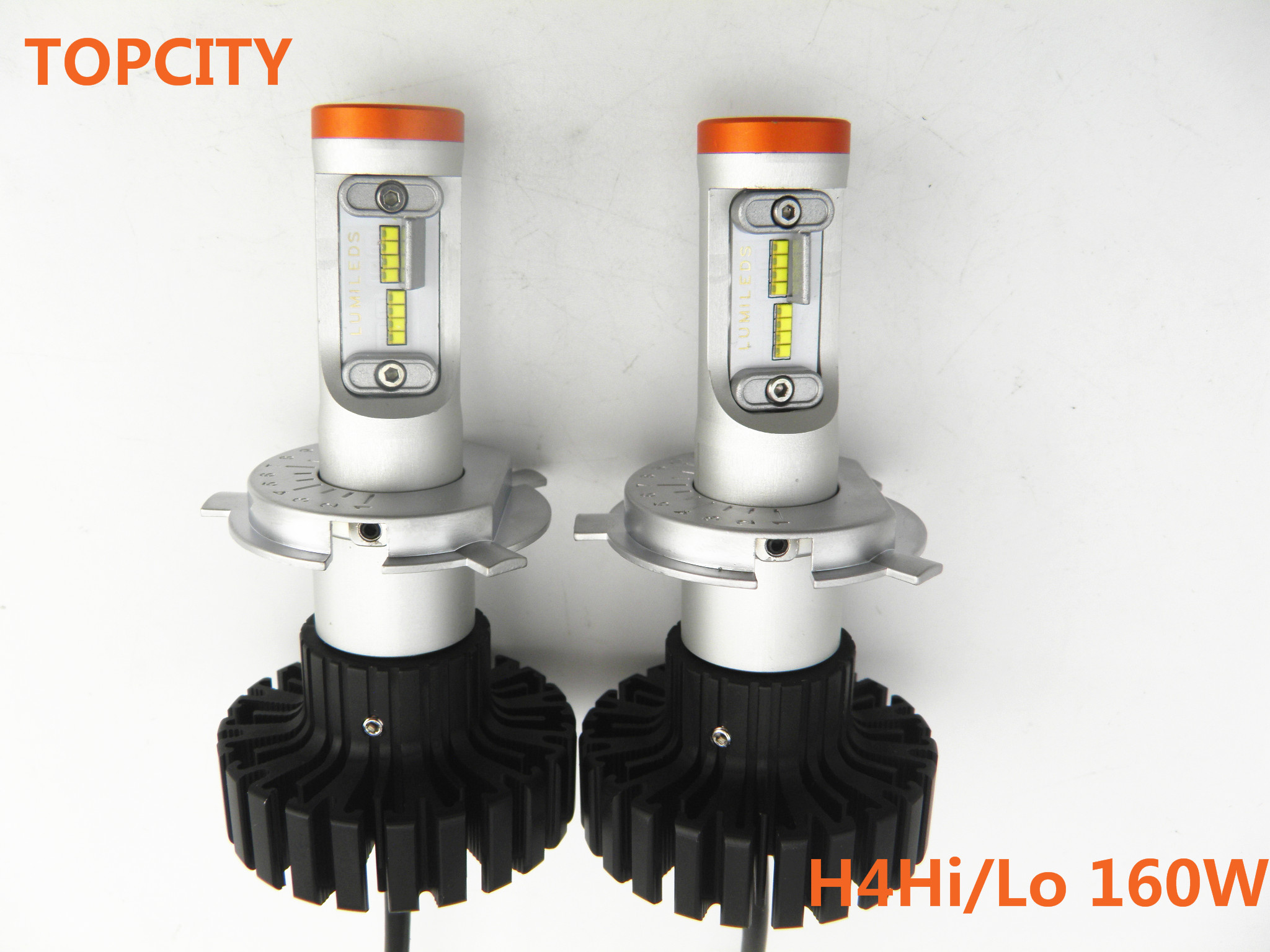 New arrival Car Lights LED H4 Hi/Lo Beam H4 160W H4 headlight bulb manufacturer