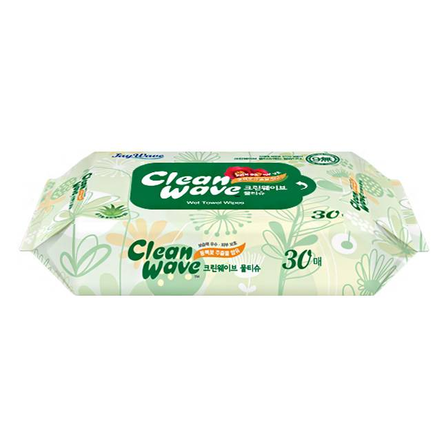 Cleanwave Basic(Wet wipes)-30sheet