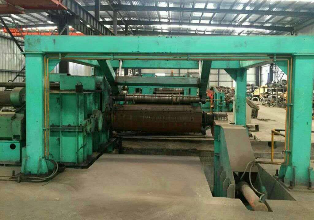 ECL 16*2000mm second hand steel coil slitting lines for sale with 2.5 years old and only processed 5