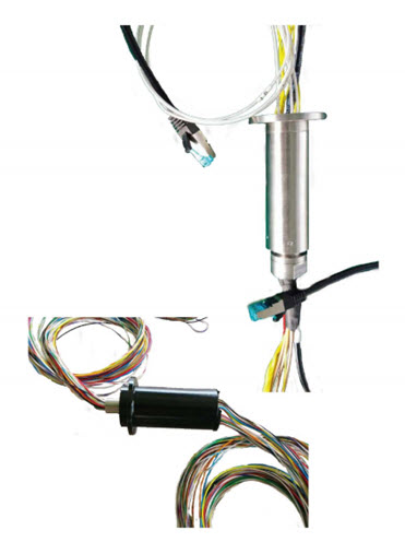 Mini Compact Slip Ring of lowest contact resistance and smallest coefficient of friction