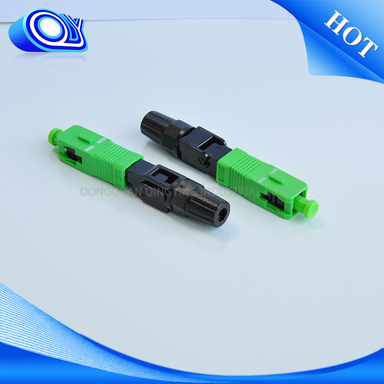 SC fiber optic fast assembly connectors