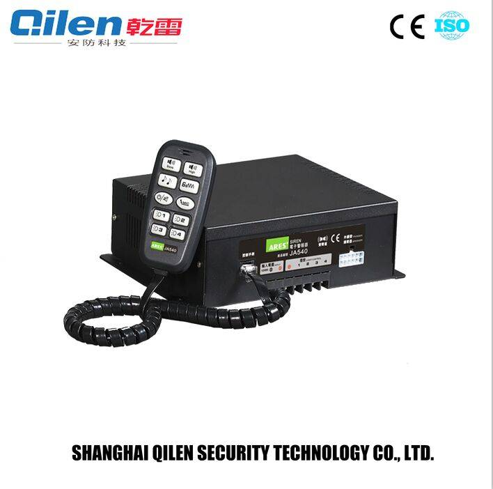 durable 400w electronic siren amplifier for police car