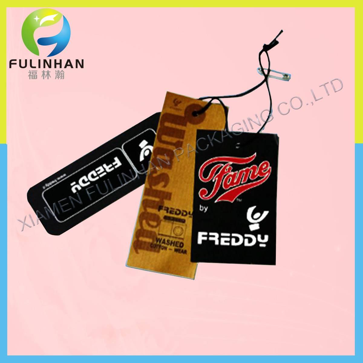 Composed Hang tag