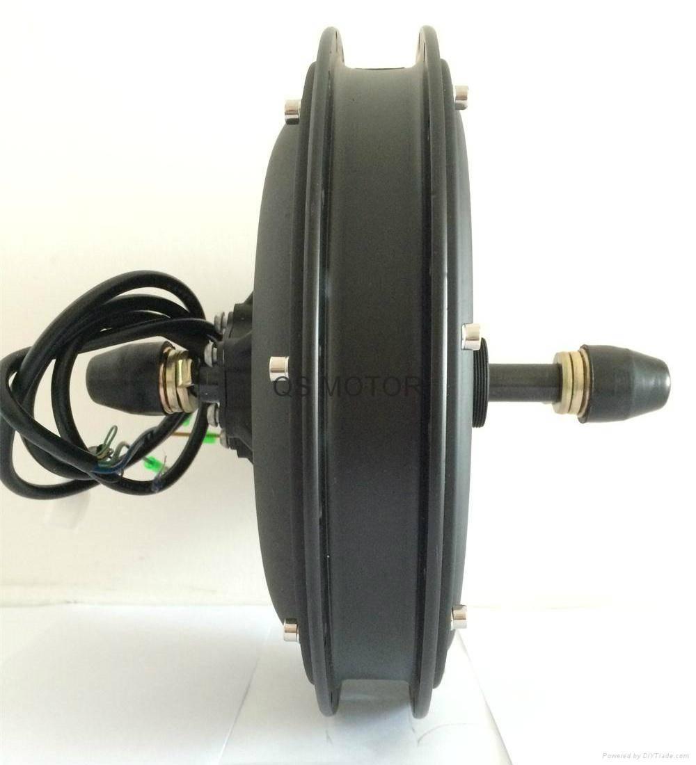 1500W Electric Bike Spoke Hub Motor