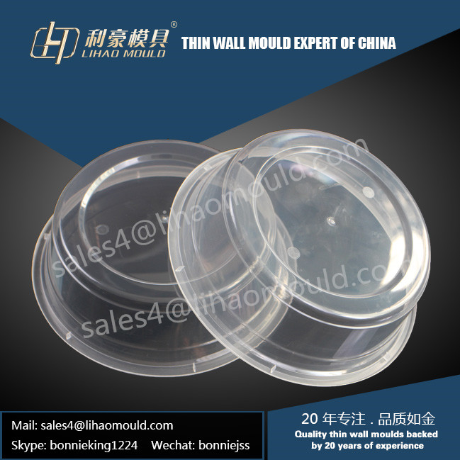 high precision 500ml thin wall bowl mould solution provider