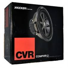 "Kicker CompVR12"" 4 Ohm Car Audio Subwoofer"