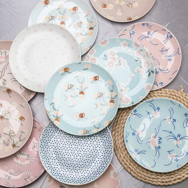NEW SERIES STAMPED CERAMIC PLATES
