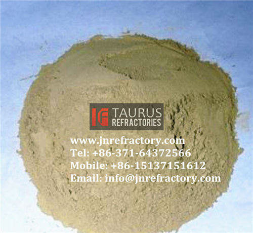 Refractory materials furnace lining