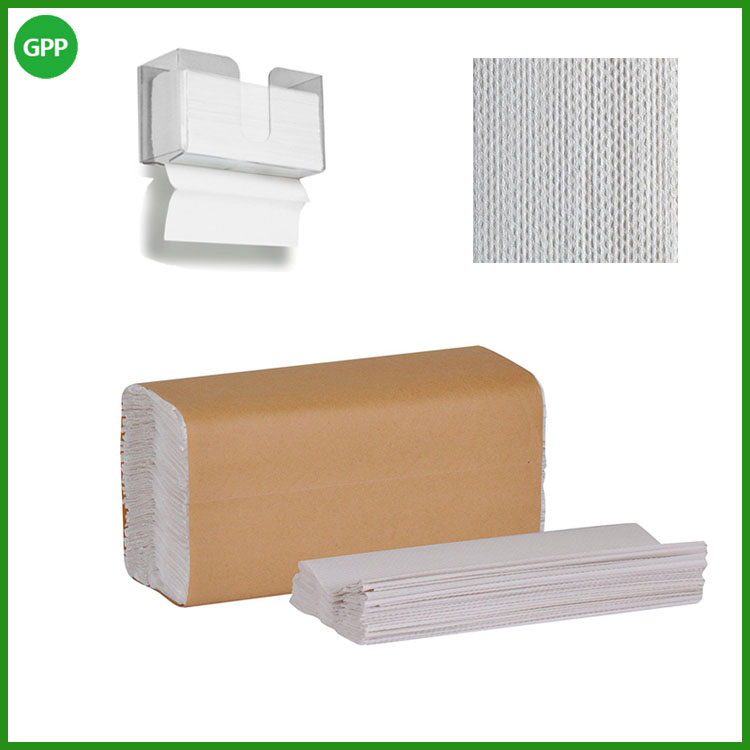 Hot sale cheap biodegradable C-fold paper towel