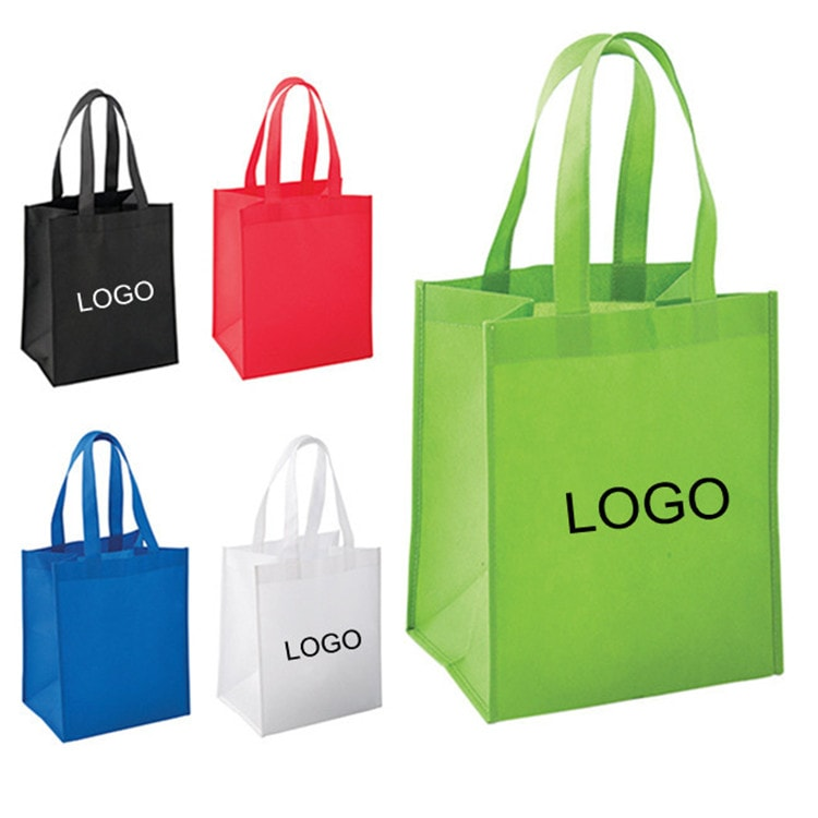 Non woven recycled shopping tote bag