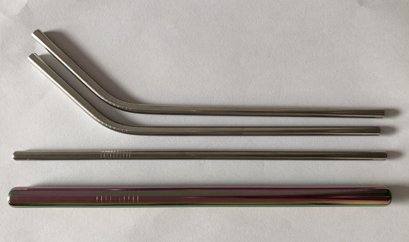 stainless steel straw / Sucker / Tubularis / Pipette